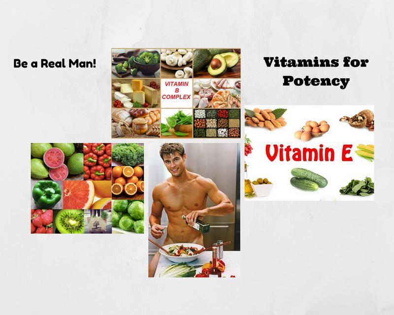 Vitamins for Potency